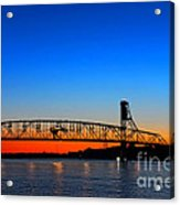 Burlington Bristol Bridge Acrylic Print