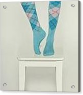 Burlington Socks Acrylic Print