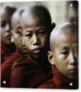 Burma Monks 2 Acrylic Print