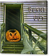 Burned Out - Halloween Acrylic Print