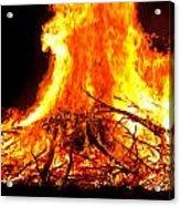 Burning Branches Acrylic Print