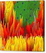 Burning Bush Acrylic Print