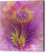 Burning Bush - Square Version Acrylic Print