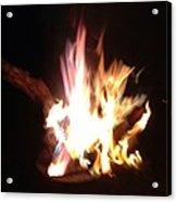 Burning For You Acrylic Print