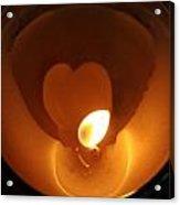 Burning Love Acrylic Print