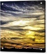 Burning Skies Acrylic Print