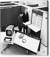 Burroughs 6500 Computer System Acrylic Print
