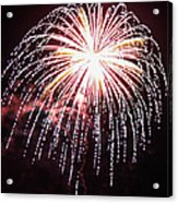4th Of July Fireworks 9 Acrylic Print