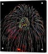Burst Of Fireworks Acrylic Print