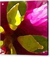 Burst Of Spring Acrylic Print