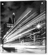 Bus Lights Acrylic Print