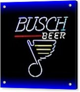 Busch And The Blues Edited Acrylic Print