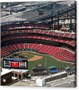 Busch Memorial Stadium Acrylic Print