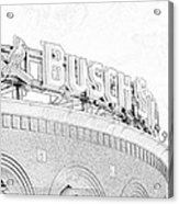 Busch Sta Line Acrylic Print