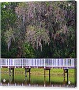 Buschman Park Walkway Acrylic Print