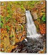 Bushkill Falls Pa Acrylic Print