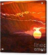 Bushveld Sunset Acrylic Print