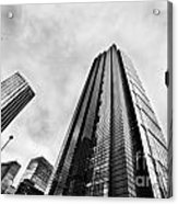 Business Architecture Skyscrapers In London Uk Acrylic Print