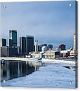 Business District Of Moscow Acrylic Print