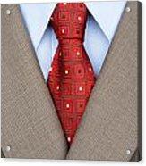 Business Suit Acrylic Print