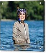 Business Woman Acrylic Print