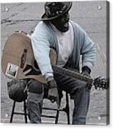 Busker With Style Acrylic Print