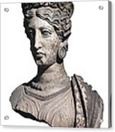 Bust Of A Woman. 4th C. Bc Acrylic Print