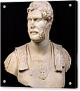 Bust Of Emperor Hadrian Acrylic Print by Anonymous