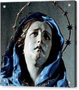 Bust Of Painful Virgin Acrylic Print