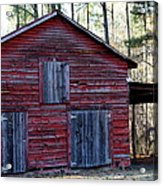 Buster's Barn Acrylic Print