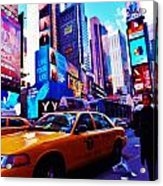 Busy City Acrylic Print