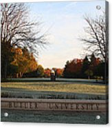Butler University Mall Acrylic Print