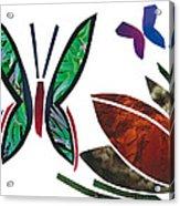 Butterflies Acrylic Print by Earl ContehMorgan