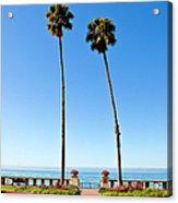 Butterfly Beach, Santa Barbara Acrylic Print