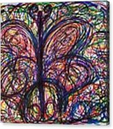 Butterfly Friends Acrylic Print