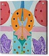 Butterfly Kisses And Ladybug Hugs Acrylic Print