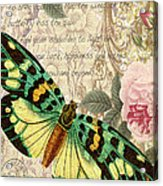 Butterfly Kisses-b Acrylic Print