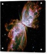 Butterfly Planetary Nebula Acrylic Print