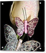 Butterfly Rose Acrylic Print