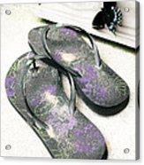 Butterfly Summer Acrylic Print