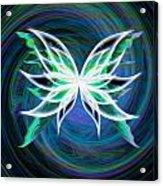Butterfly Swirl Acrylic Print