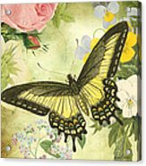 Butterfly Visions-d Acrylic Print