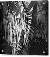 Butterfly Window Acrylic Print