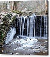 Buttermilk Falls 2 Acrylic Print