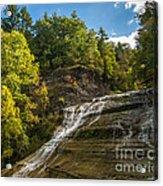 Buttermilk Falls Acrylic Print by John Naegely