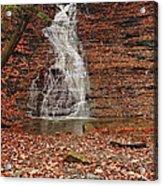 Buttermilk Falls Acrylic Print by Marcia Colelli