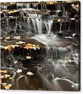 Buttermilk Falls Acrylic Print by Shannon Workman
