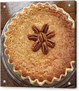 Buttermilk Pecan Pie Acrylic Print