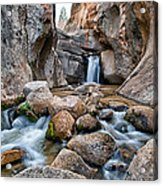 Buttermilks Waterfall Acrylic Print
