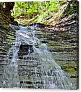 Butternut Falls Acrylic Print by Frozen in Time Fine Art Photography